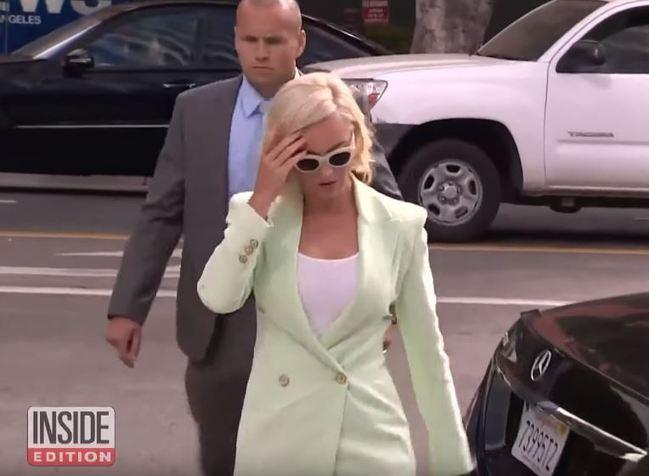 凱蒂佩芮被控抄襲 上法庭竟現場開唱 | 華視新聞