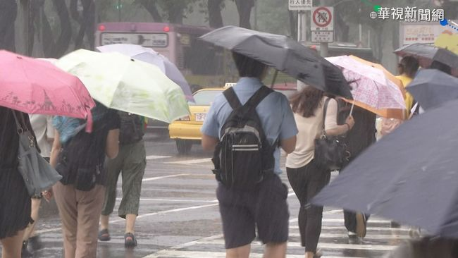 快訊/午後對流旺盛 全台15縣市警戒雨彈狂炸 | 華視新聞