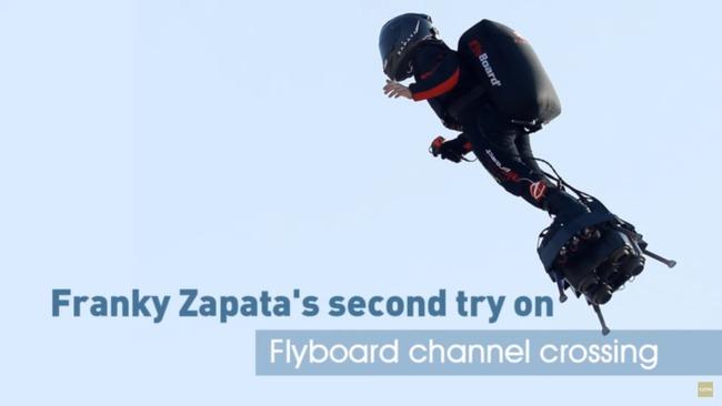 成為鋼鐵人不是夢!飛行滑板成功橫越海峽 | 華視新聞