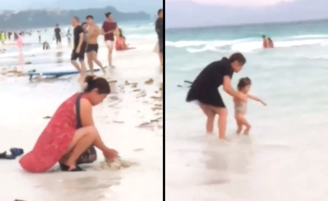 遊客海灘排泄還埋穢物 長灘島封灘72小時清潔   華視新聞