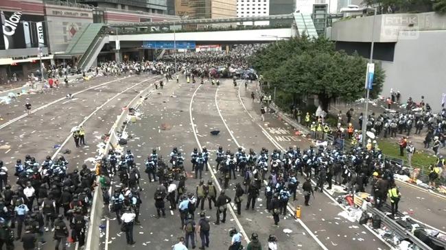 以「貿易戰」施壓!川普籲習近平人道對待香港 | 華視新聞