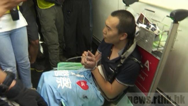 機場襲擊《環時》記者 19歲港男保釋被拒 | 華視新聞