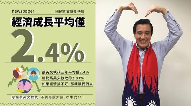 馬英「九」打成「久」 國民黨發文宣超落漆 | 華視新聞