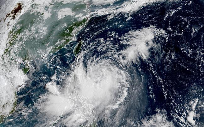 輕颱白鹿陸警發布!台東、屏東警戒防強風雨   華視新聞