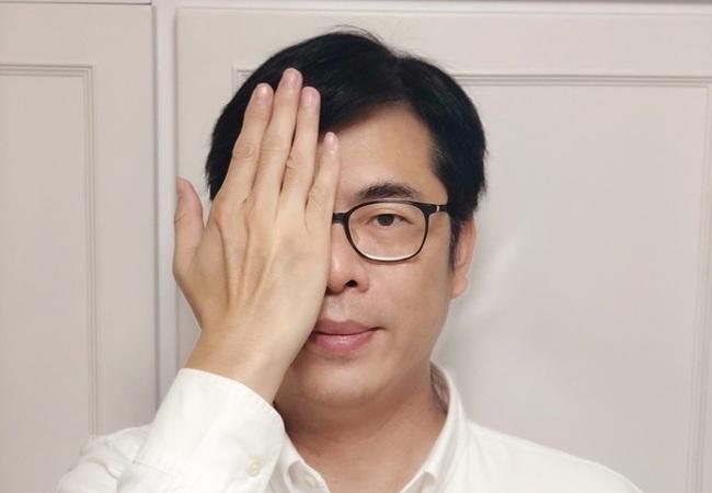 「為港遮眼」挑戰 陳其邁:全世界都願當香港右眼 | 華視新聞
