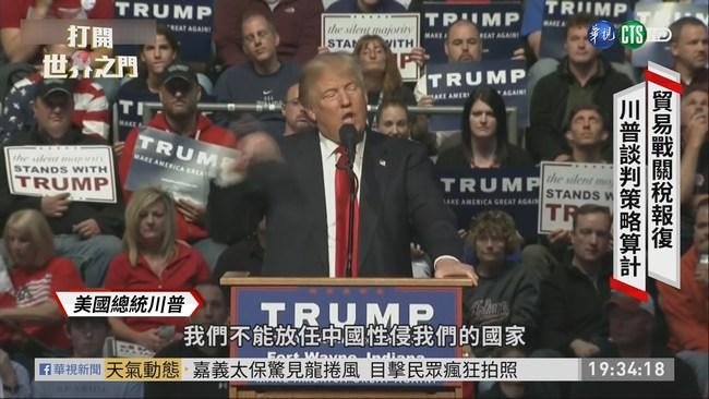 加徵關稅互相報復  美中貿易戰白熱化 | 華視新聞