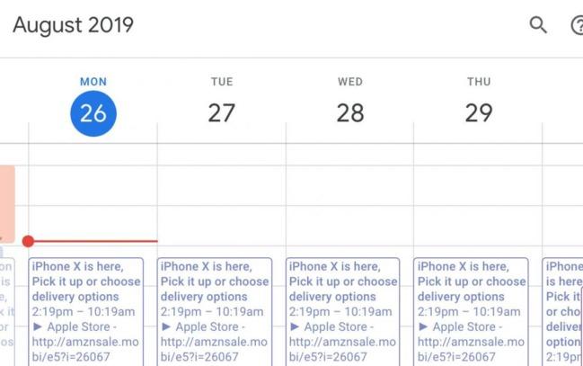 小心! 行事曆出現「恭喜抽中iPhone XS」 恐被詐個資 | 華視新聞
