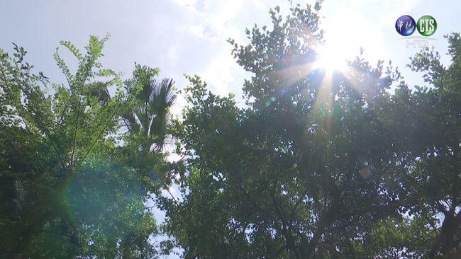 西半部高溫炎熱 東南部有短暫雨   華視新聞