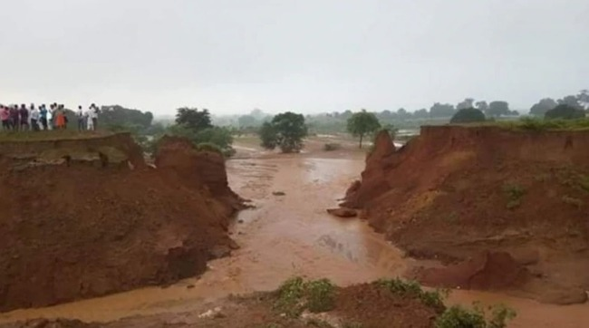 花42年砸百億!印度運河啟用14小時就潰堤 | 華視新聞