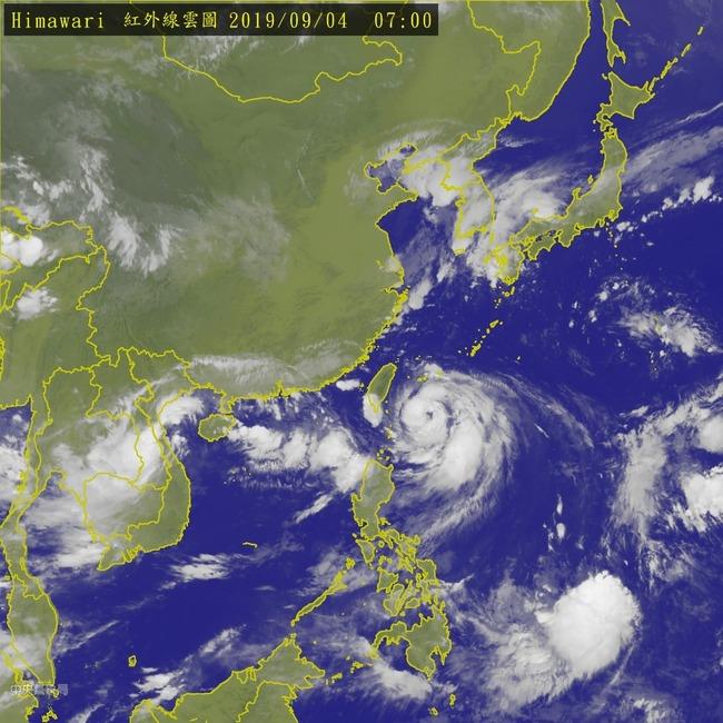 「玲玲」增強為中颱 外圍環流挾雨彈炸南部 | 華視新聞