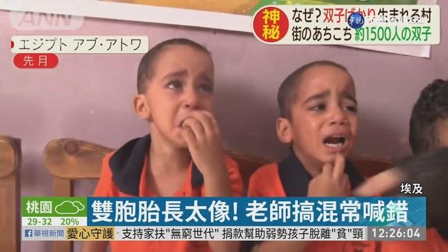 """埃及""""雙胞胎村""""!36人幼園 7對雙胞   華視新聞"""