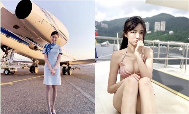 最美空姐露雪乳 曬火辣身材爆機上內幕 | 華視新聞