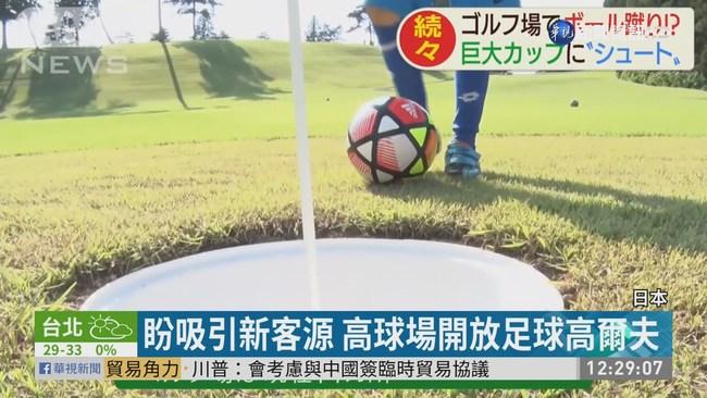 結合足球與高爾夫 新運動全球漸夯 | 華視新聞