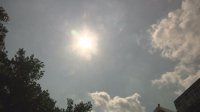 琵琶颱風減為熱低壓 各地高溫上看33度 | 華視新聞