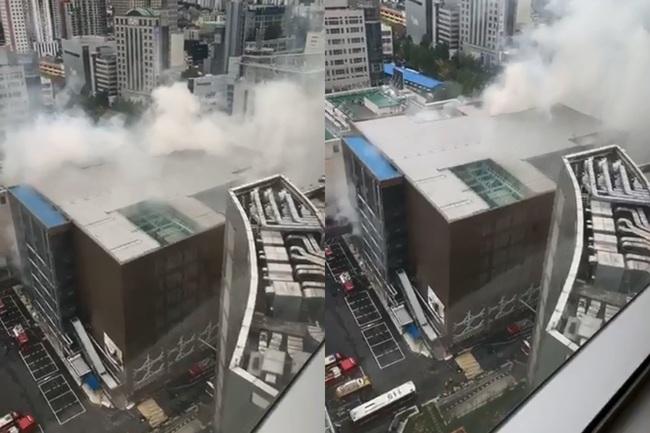【影】南韓東大門賣場傳火警! 火勢延燒逾13小時 | 華視新聞