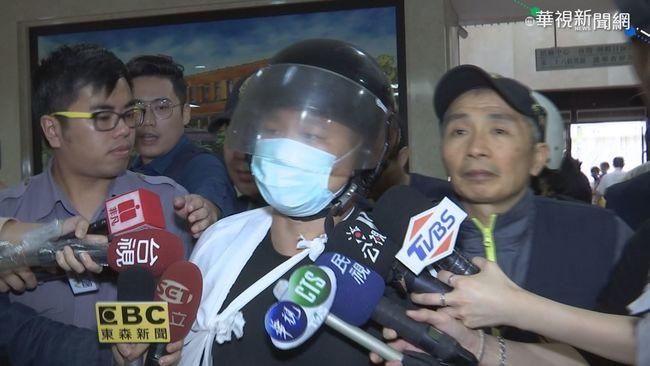 潑漆統促黨2嫌交保 警政署聲明:建請檢察官抗告   華視新聞