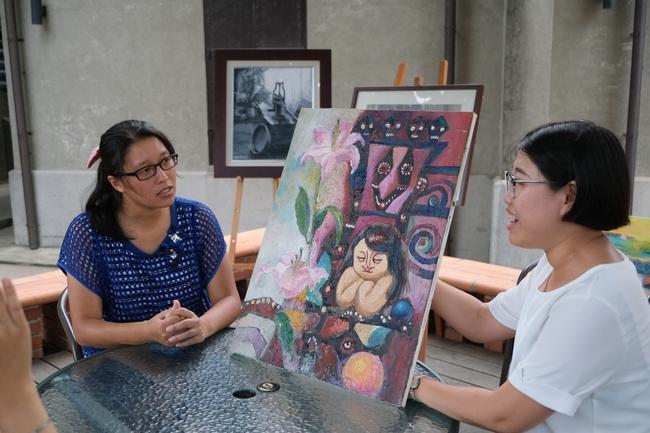 不畏身心障礙 小光點畫廊用藝術點亮希望 | 華視新聞