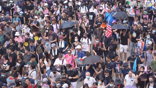香港衝突持續升溫 港鐵關閉54個車站 | 華視新聞