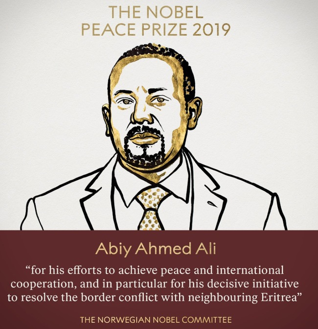 解決邊境與厄利垂亞衝突 衣索比亞總理獲諾貝爾和平獎   華視新聞