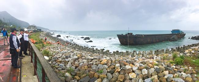 中國無主貨船擱淺宜蘭 於22日啟動移除作業 | 華視新聞