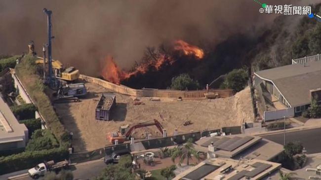 美國加州南部山區 野火猛烈竄燒 | 華視新聞