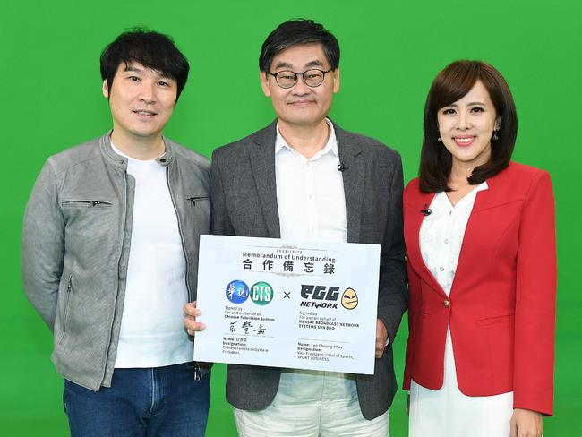 華視與eGG Network跨國簽約姐妹台 主播朱培滋想搶電競主持棒 | 華視新聞
