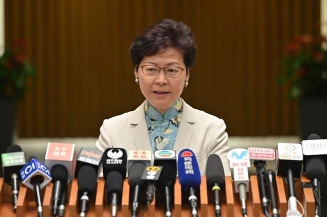 逾8成港人唾棄!林鄭月娥民調再創新低 | 華視新聞
