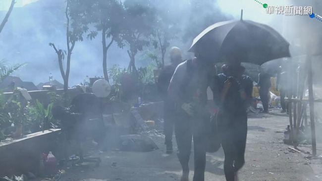 理大圍城戰 港警拘捕400名成年人 | 華視新聞