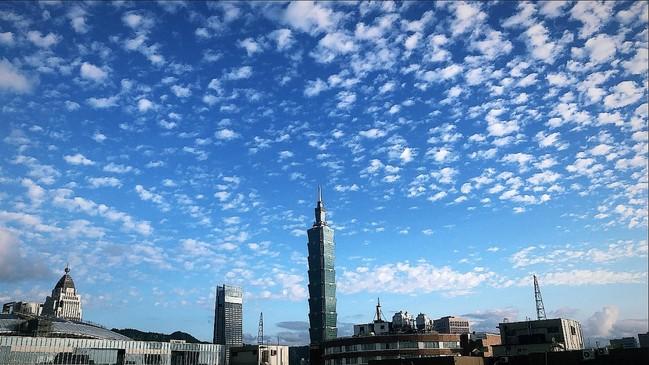 天空超美!滿滿棉花糖是「高積雲」 鄭明典:變天前兆   華視新聞