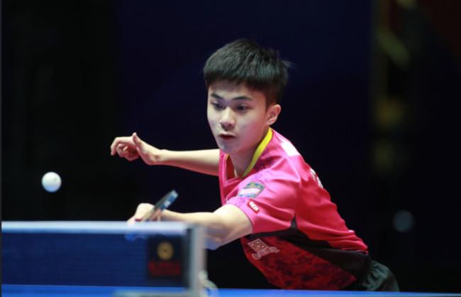 快訊》林昀儒擊敗奧運金牌馬龍 世桌賽勇奪季軍 | 華視新聞