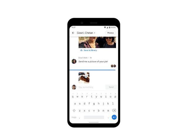 Google相簿新功能!相簿變聊天室 相片直接傳 | 華視新聞