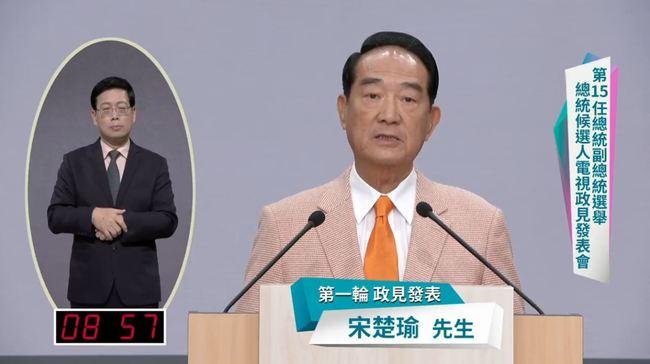 曾推動民主化過程 宋楚瑜提台灣6大危機   華視新聞