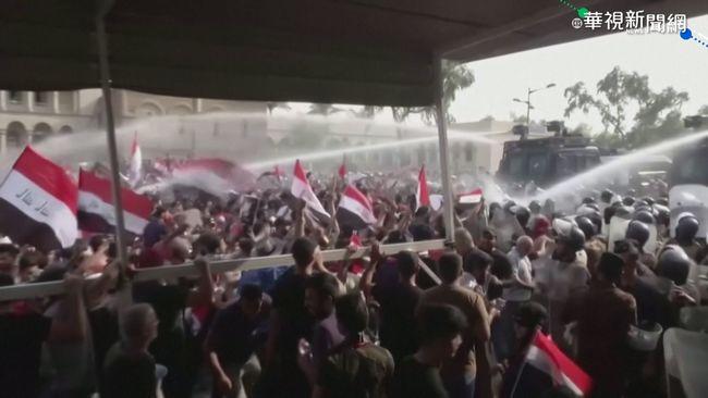長期政治分贓 伊拉克人民上街頭反貪 | 華視新聞