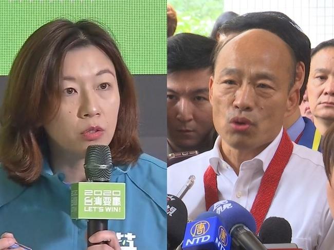 韓國瑜提貪汙嘗豬膽? 她酸:視野僅沒人權的中國監獄   華視新聞