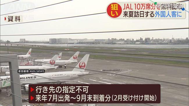 日航空業推優惠 疏散東奧.帕奧遊客 | 華視新聞