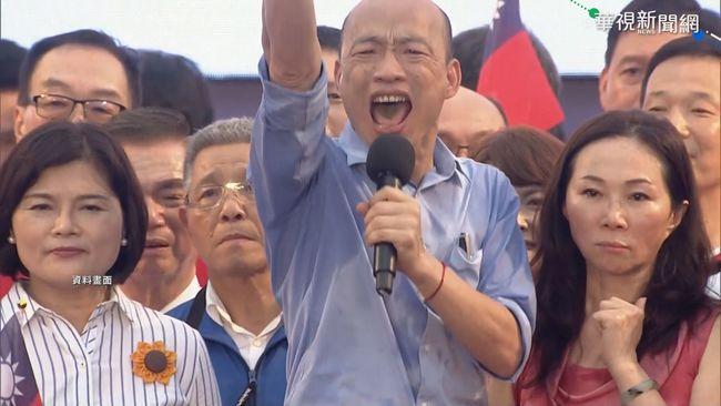 韓國瑜二度與高雄市民跨年 許願「新年要有新總統」 | 華視新聞