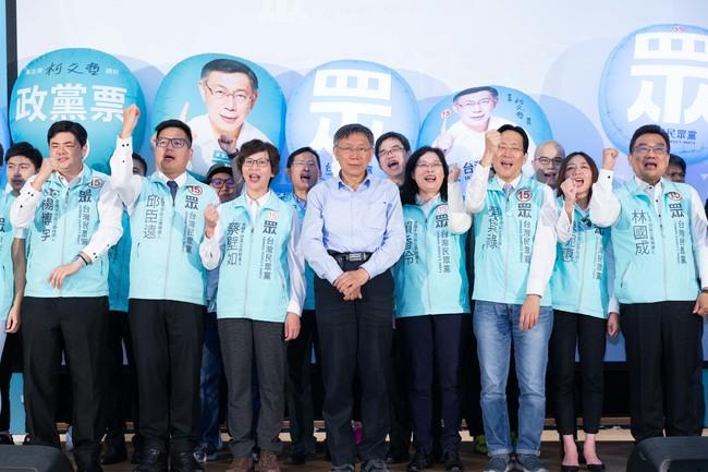 立委》不分區民眾黨預估5席、時力拿下3席   華視新聞