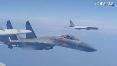 中國轟6現身巴士海峽 國防部全程掌握
