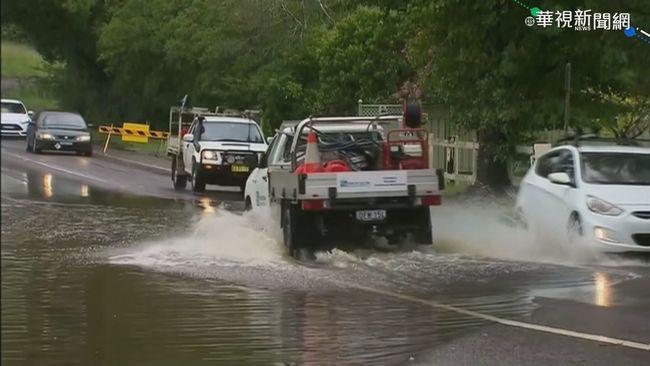 詭異氣候夾擊澳洲 氣旋風暴豪雨肆虐 | 華視新聞
