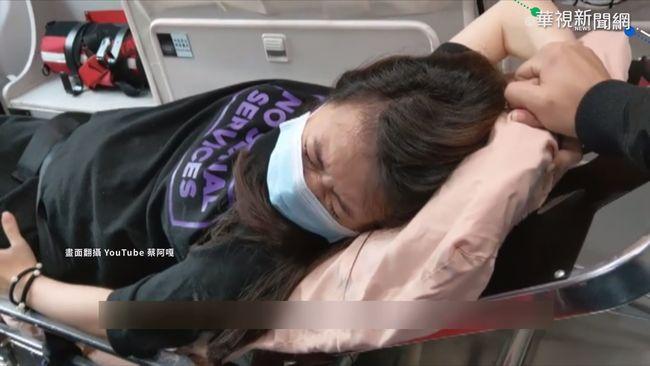 蔡阿嘎夫婦騎車遇襲 妻被打驚嚇宮縮 | 華視新聞