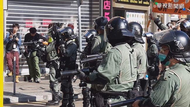 美人權報告指「港警過度使用武力」...港府說話了 | 華視新聞