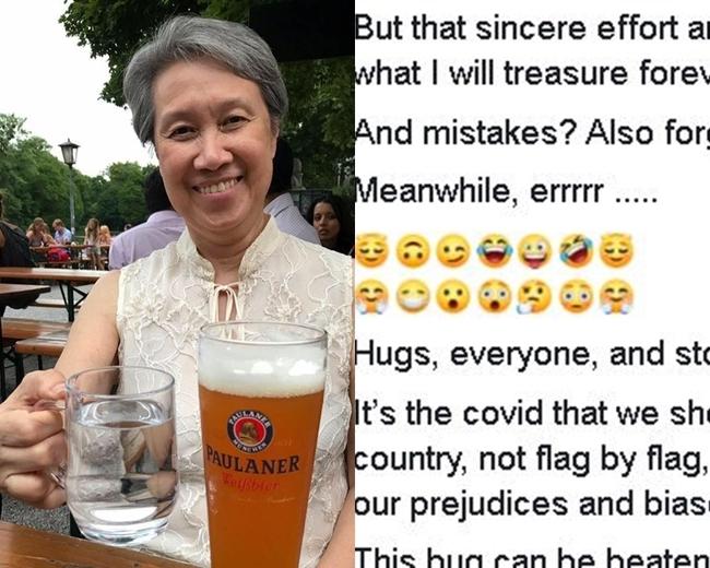 星總理夫人何晶改稱「感激台灣」 詭異狂刷表情符號   華視新聞