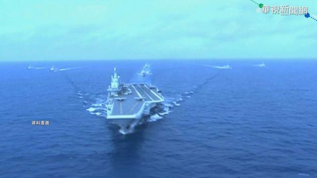 遼寧號通過台灣東部海域 美軍機現身 | 華視新聞