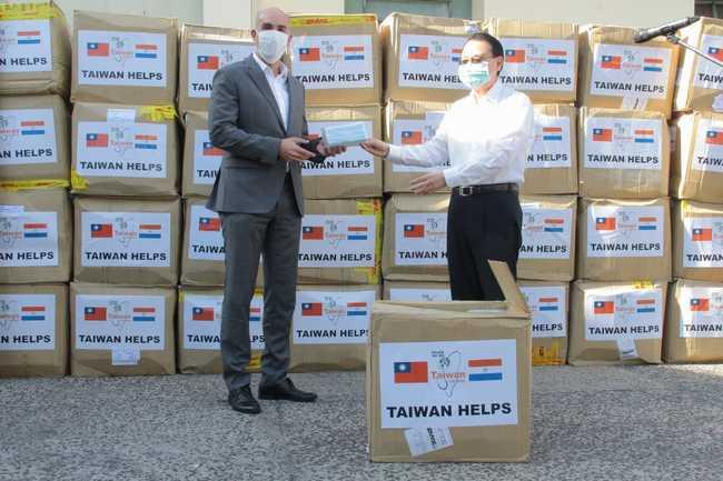 TW can help!巴拉圭收28萬口罩感謝台灣   華視新聞