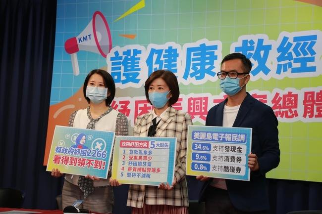 轟蔡政府紓困「2266」!國民黨列5大缺失 | 華視新聞