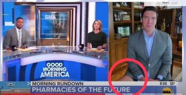 主播台的都市傳說... 糗!美主播播報拍到下身竟「沒穿褲」 | 華視新聞