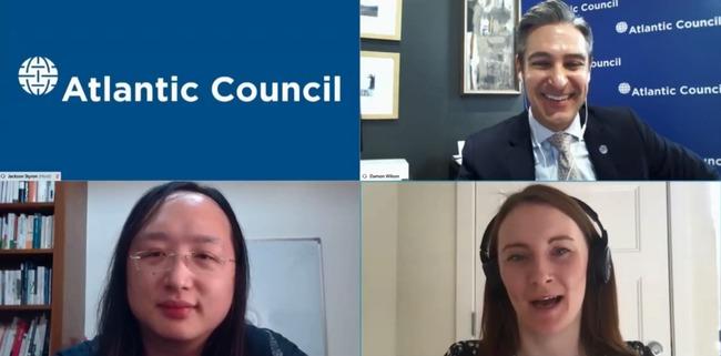 唐鳳與美智庫談話:台防疫成功是人民、政府互信 | 華視新聞