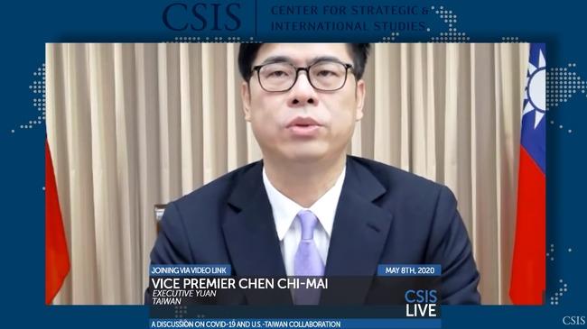 「讓台在WHO有一席之地」 陳其邁分享「台灣模式」3關鍵   華視新聞