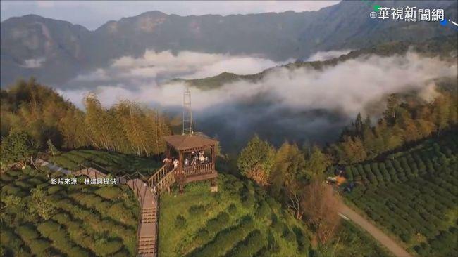 縮時「雲瀑秀」 南投大崙山美如仙境 | 華視新聞