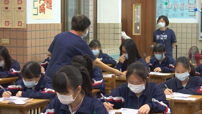 國中會考今登場 累計18人發燒啟用備用試場 | 華視新聞